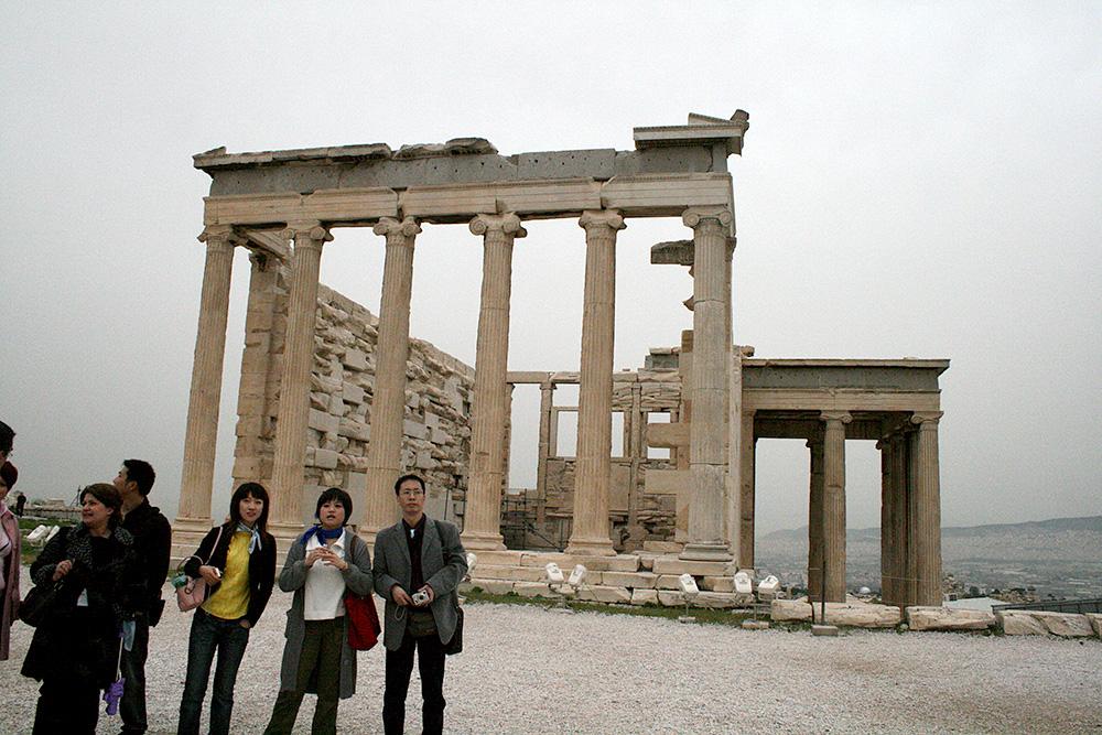 Visiting Athens Acropolis Kaperoni Financial Group